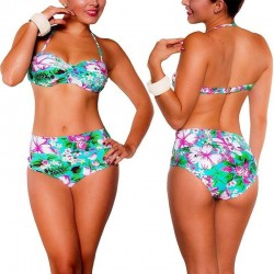 Bikini RETRO PRAIE REF: 1148 Dos Usos (Aguamarina)