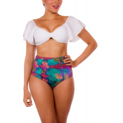 PRAIE High Waist Bikini REF: 2116 Decorosa Hueso
