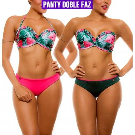 PRAIE Bikini Swimsuit REF: 2105 Hawaii *Double Faz Bottom