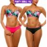 Vestido deBaño Bikini PRAIE REF: 2105 Hawaii *Panty Doble Faz