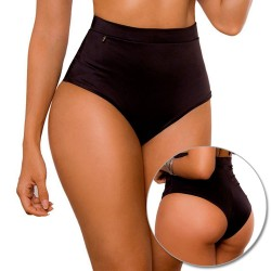 PRAIE High Waisted Swim Bottom REF: 1910B Retro Control *Tummy