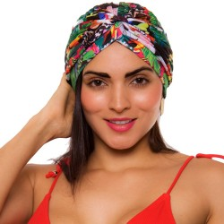 PRAIE Turban REF: TB004B Cortes Aves Swim cap Hair Band Bows