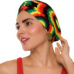 PRAIE Turban REF: TB004A Cortes Rasta Swim cap Hair Band Bows