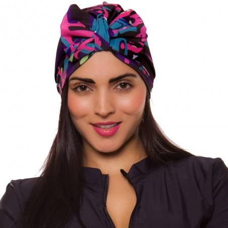 PRAIE Turban REF: TB002B Moño Colors Swim cap Hair Band Bows