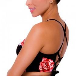 Top de Vestido de Baño PRAIE REF: 1706 Halter flores