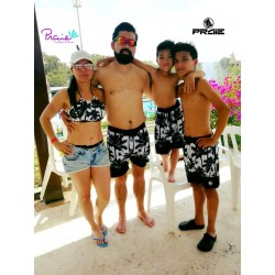 PRAIE Swim Trunk REF: 2014B Palmeras *Smart Antifluid