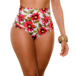 PRAIE High Waisted Swim Bottom REF: 1920B Retro Jovial