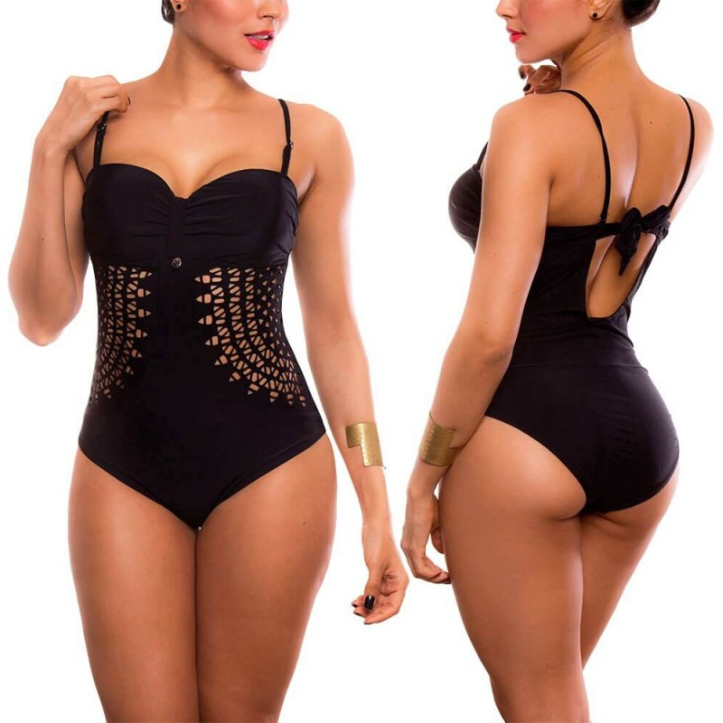 PRAIE One piece Swimsuit REF: 2001 Strapless Láser