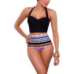 PRAIE High Waist Bikini REF: 1642 Nativo Push up