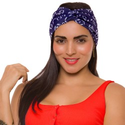 PRAIE Turban REF: TB001AA Anclas Hair Band Bows Accessory Lycra