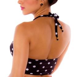 Top de Vestido de Baño PRAIE REF: 1010A Largo Puntos