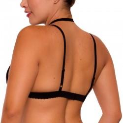 PRAIE Underwear Bralette REF: T006 Top Encaje Cuello