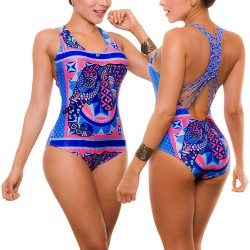 PRAIE One piece Swimsuit REF: 1906 Hindú *Tummy Control