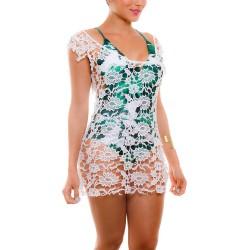 PRAIE Beachwear REF: 1831 Vestido Apliques