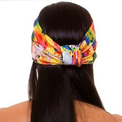 PRAIE Turban REF: TB001E Pájaros Hair Band Bows Accessory Lycra