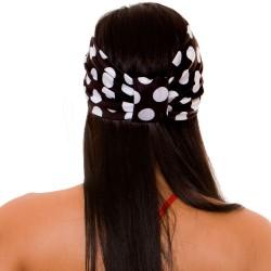 PRAIE Turban REF: TB001C Bolas Hair Band Bows Accessory Lycra