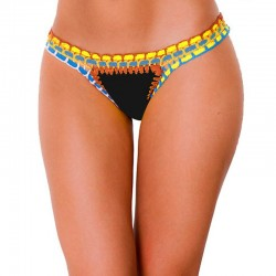 PRAIE Swimsuit Bottom REF: 1403B Neopreno Crochet *DUAL PURPOSE