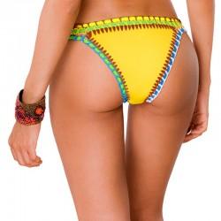 Panty de Vestido de Baño PRAIE REF: 1403B Neopreno Crochet