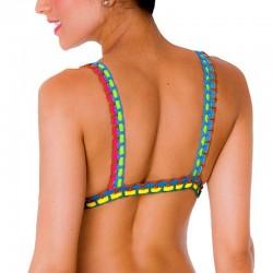 PRAIE Swimsuit Top REF: 1403A1 Neopreno Crochet *DUAL PURPOSE