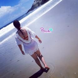 PRAIE Beachwear REF: 1832 Vestido Artesanal