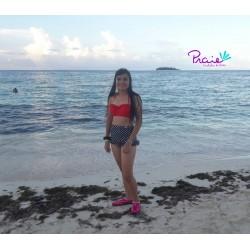 Vestido de Baño Bikini RETRO PRAIE REF: 1401 Polka Boleros