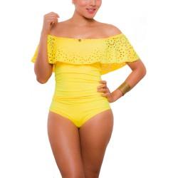 PRAIE One piece Swimsuit REF: 1623 Bardot Láser Boleros