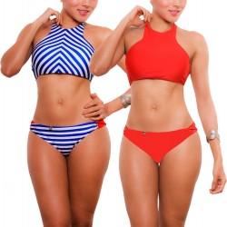 PRAIE Bikini Swimsuit REF: 1738 Náutico *Double Face