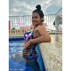 PRAIE High Waist Bikini REF: 1803 Florido