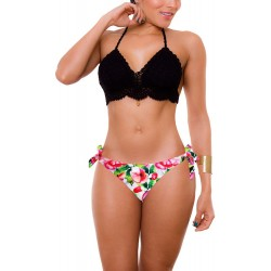 PRAIE Bikini Swimsuit REF: 1826 Crochet Triangular