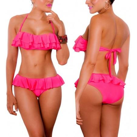 PRAIE Bikini Swimsuit REF: 1430 Pompon Boleros