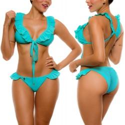 PRAIE Bikini Swimsuit REF: 2037 Decora Coral Boleros