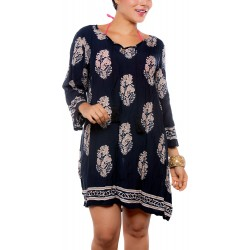 PRAIE Beachwear REF: 2203 Blouse Ornato Dress