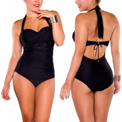 PRAIE One piece Swimsuit REF: 1218 Draped Shirred