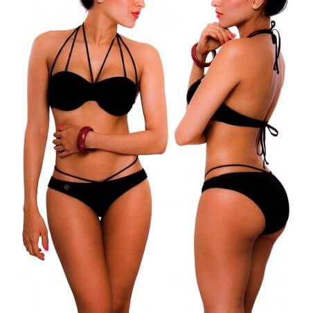 Vestido de Baño Bikini PRAIE REF: 1321 Neck Tiras