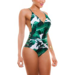 PRAIE One piece Swimsuit REF: 1806 Fanático *Tummy Control