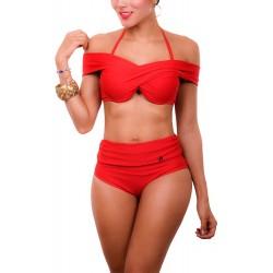 PRAIE High Waist Bikini REF: 1612 Cruce *Two Uses