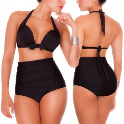 PRAIE High Waist Bikini REF: 1113 Class Tummy Control