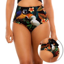 PRAIE High Waisted Swim Bottom REF: 1734B Retro Ilusión *Tummy