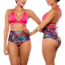 PRAIE Swimsuit Top REF: 1710A Triangulo Cruzado