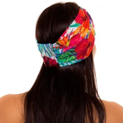 PRAIE Turban REF: TB001D1 Biflora Hair Band Bows Accessory Lycra