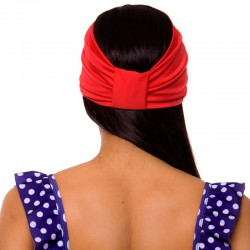PRAIE Turban REF: TB001I Hair Band Bows Accessory Lycra