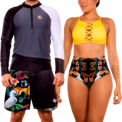 PRAIE Swim Trunk REF: 2016B Cacatuas *Smart Antifluid