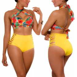 PPRAIE High waist Bikini REF: 1942 Tropical
