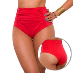 PRAIE High Waisted Swim Bottom REF: 1621B Retro Recogido