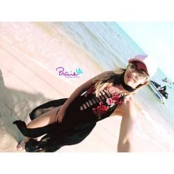 PRAIE One piece Swimsuit REF: 2003 Japonés Rosas