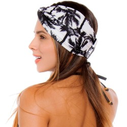 Turban REF: TB001K Palms Hair Band Bows Accessory Lycra