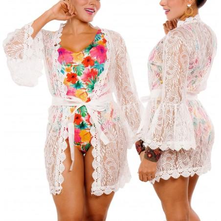 PRAIE Beachwear REF: 2223 Kimono Bell Sleeve