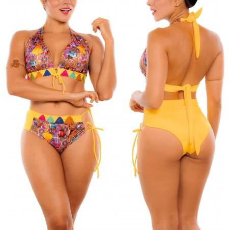 Vestido de Baño Bikini RETRO PRAIE REF: 2303 Árabe Bordado