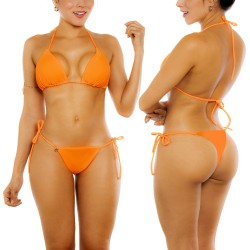 PRAIE Bikini Swimsuit REF: 2126 Bronceo Ajustable