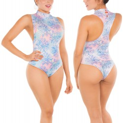 Body Vestido de Baño Doble Faz PRAIE REF: B007 Control Abdomen